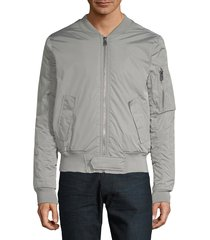 eleven paris men's suxy bomber jacket - navy - size m
