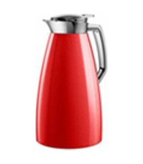 garrafa termica plaza quick press 1 litro emsa vermelha