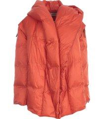 issey miyake transform midi padded coat