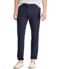 pantalón azul navy polo ralph lauren m classics 1 ink slim fit bedford pan
