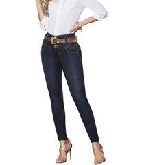 jeans colombiano control de abdomen sb azul bartolomeo