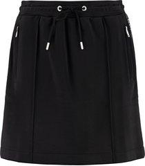 kenzo technical fabric mini-skirt