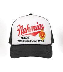 miracle way trucker hat black