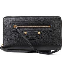 balenciaga black neo classic wallet