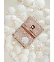 portfel mikro +- splash pink