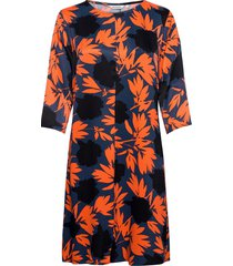 sija pionipensas dress jurk knielengte multi/patroon marimekko