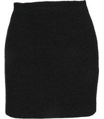 alessandra rich tweed bouclé mini skirt