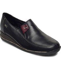44272-00 loafers låga skor svart rieker