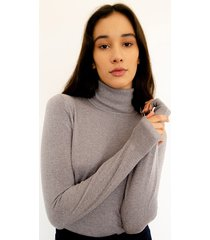 sweater gris desiderata lurex amur