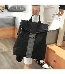 mochila de mujer, bolso de viaje de mujer soft face diamond-negro
