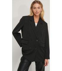 na-kd classic blazer - black