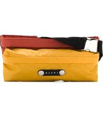 marni colour-block belt beg - yellow