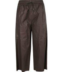 fabiana filippi drawstring cropped trousers