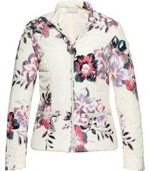 giacca trapuntata a fiori (bianco) - bpc selection