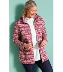 fleece vest miamoda grijs::cyclaam
