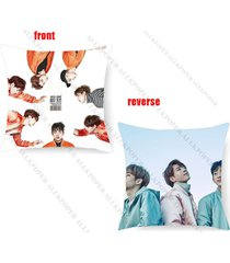 kpop got7 fly concert throw pillow case jackson cushion covers square mark jb jr
