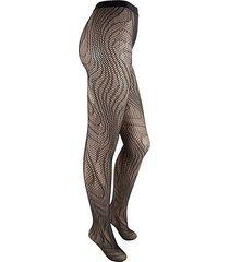 cassy swirl fishnet tights