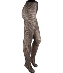 cassy swirl fishnet tights