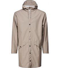 rains regenjas long jacket taupe 2021