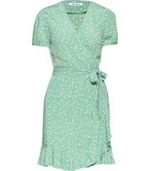 linetta dress aop 10056 korte jurk groen samsøe samsøe