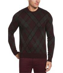 sweater crew neck rombos perry ellis