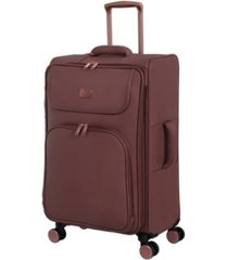 "it girl 28"" composed softside semi-expandable spinner suitcase"