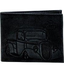 carteira masculina zariff em couro