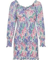 cosima mini dress kort klänning multi/mönstrad faithfull the brand