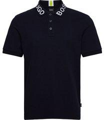 parlay 85_bb t-shirts short-sleeved blå boss
