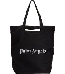 palm angels fanny tote bag