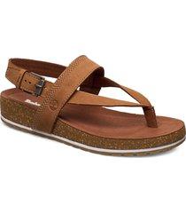 malibu waves thong shoes summer shoes flat sandals brun timberland