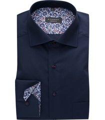 eterna shirt donkerblauw comfort fit