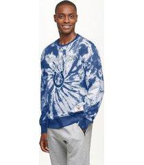 tommy hilfiger men's indianapolis colts tie-dye sweatshirt royal/indianapolis colts - m