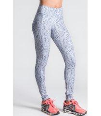 calza gris punto 1 legging estampada