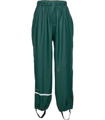 rainwear pants, solid outerwear rainwear bottoms grön celavi
