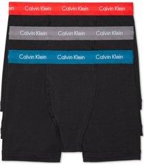 calvin klein men's cotton stretch boxer briefs 3-pack nu2666