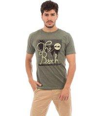 camiseta aes 1975 the beach masculina - masculino