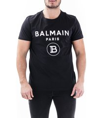 balmain balmain mens black t-shirt