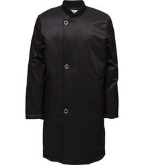 tucked coat gevoerd jack zwart cheap monday
