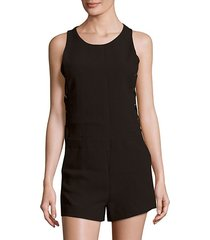 moltani solid sleeveless romper