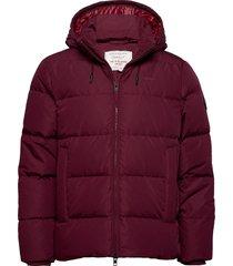 d2. the alta down jacket fodrad jacka röd gant