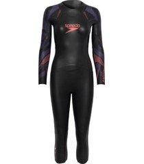 proton wetsuit w baddräkt badkläder svart speedo