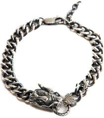 dragon bracelet - silver s-dra-bra