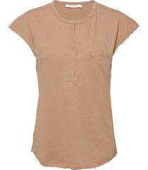 blanca t-shirts & tops short-sleeved beige rabens sal r
