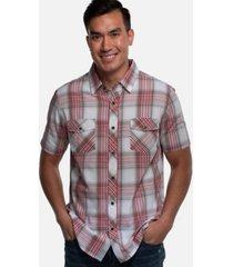 cariloha men's standard fit short-sleeve button down shirt