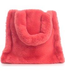 stand studio lolita fur velvety heavy medium tote bag