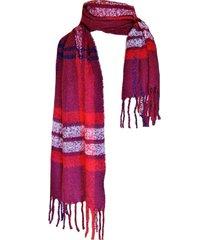 bufanda tartan highlands guinda viva felicia