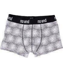 boxer blanco no end lunas