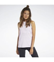 top reebok sport geperforeerde tanktop