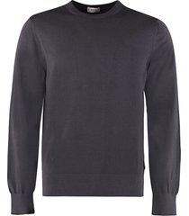 z zegna crew-neck wool sweater